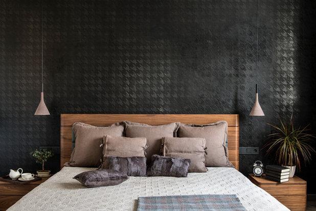 Современный Спальня by ID Design | Irina Derbeneva