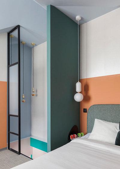 Модернизм Спальня by M - buro