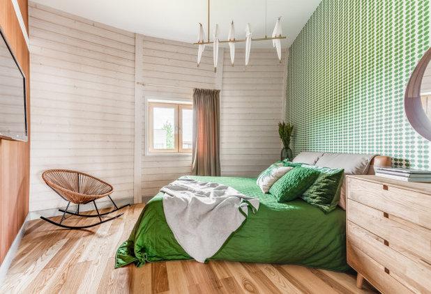 Современный Спальня by Verba Design