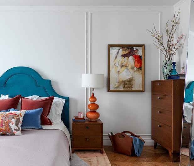 Современный Спальня by Mezentseva Interiors