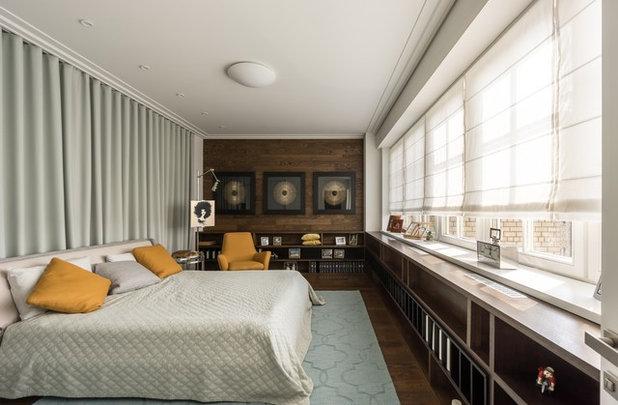 Современный Спальня by Дизайн-бюро Галины Микулик