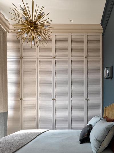 Современная классика Спальня by Ariana Ahmad Interior Design