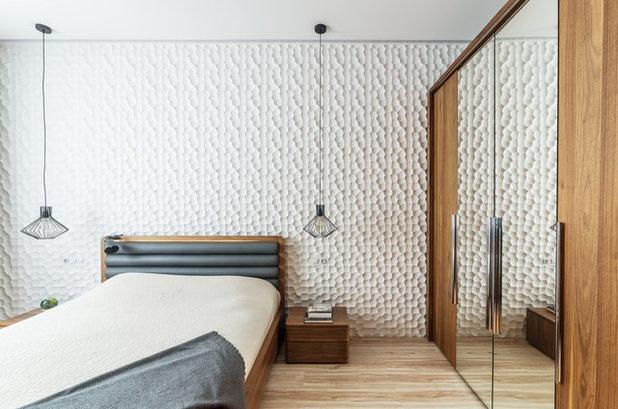 Contemporáneo Dormitorio by Михаил Новинский (MNdesign)