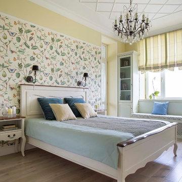 Квартира для молодой семьи в провансе с элементами стиля Coastal Living