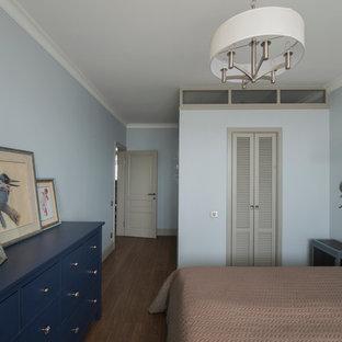 Источник вдохновения для домашнего уюта: спальня в стиле фьюжн