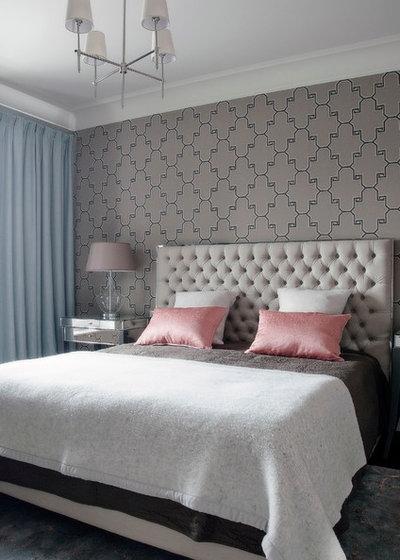 Современный Спальня by Yana Molodykh Interiors ( Яна Молодых)