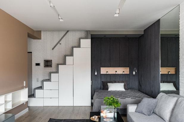Scandinavian Bedroom by Арина Волкова
