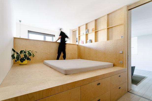 Современный Спальня by Схема