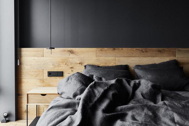 Современный Спальня by Архитектурная студия Ruetemple