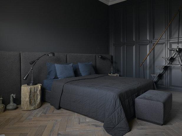 Современная классика Спальня by Архитектурная мастерская Нины Прудниковой