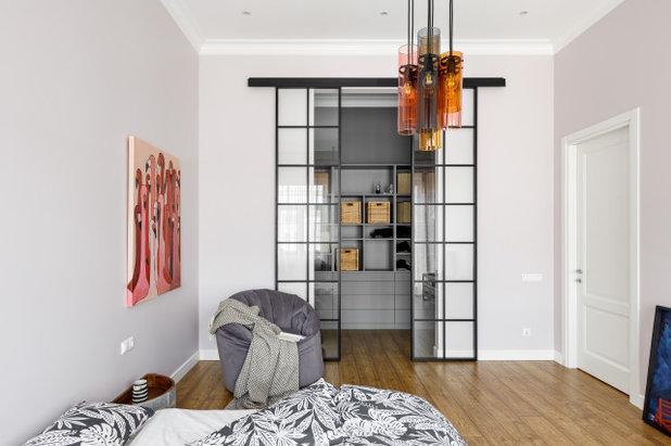 Лофт Спальня by Remodel