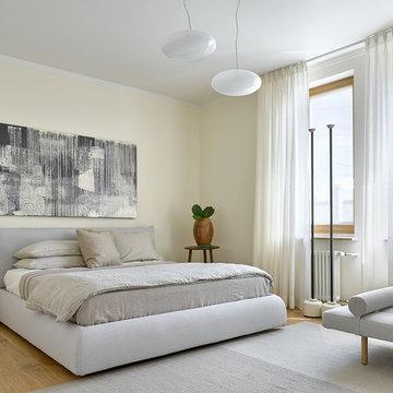 Квартира на Патриарших прудах, 126 м²