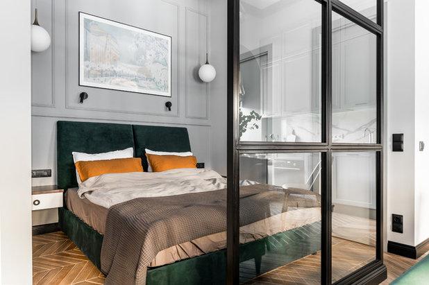 Современная классика Спальня by Интерьерная студия AI