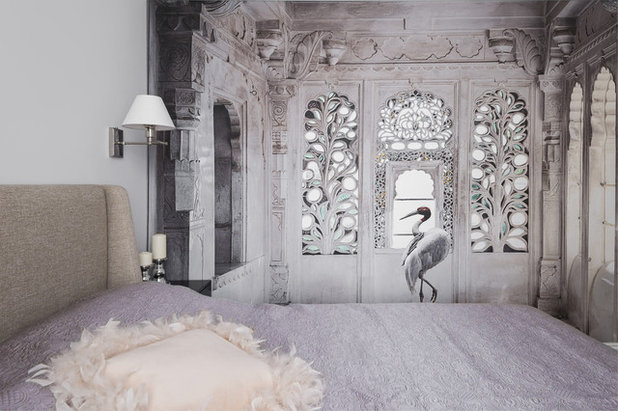 Contemporary Bedroom by Наталия Спивак и Надежда Борцова