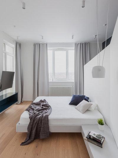 Современный Спальня by SHKAF interior architects