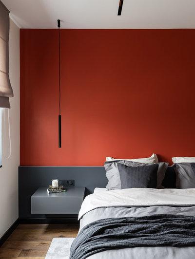 Современный Спальня by Интерьерная студия AI