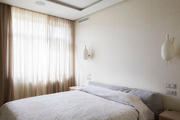コンテンポラリー 寝室 by Ariana Ahmad Interior Design