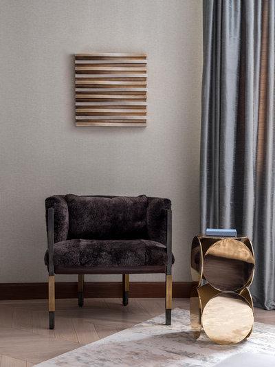 Современный Спальня by Porte rouge interiors