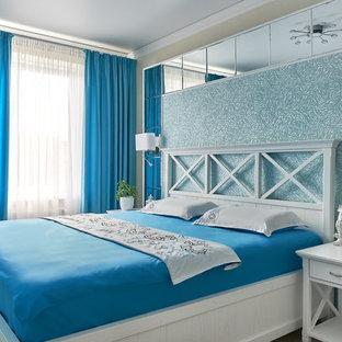 Exemple d'une chambre méditerranéenne.