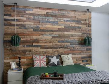 Квартира с зеленой стеной (реализация)