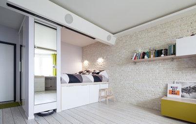 Маленькая спальня: 11 идей, как уместить все необходимое