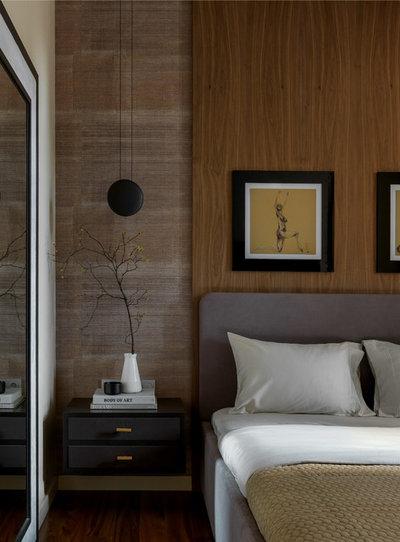 Современный Спальня by Анастасия Фонарева