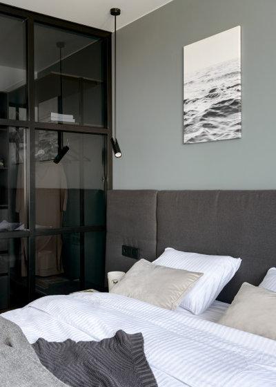 Современный Спальня by Happy House Architecture&Design