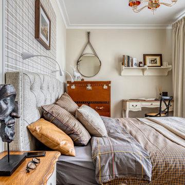 Квартира в аренду, которую сняли за один день: спальня