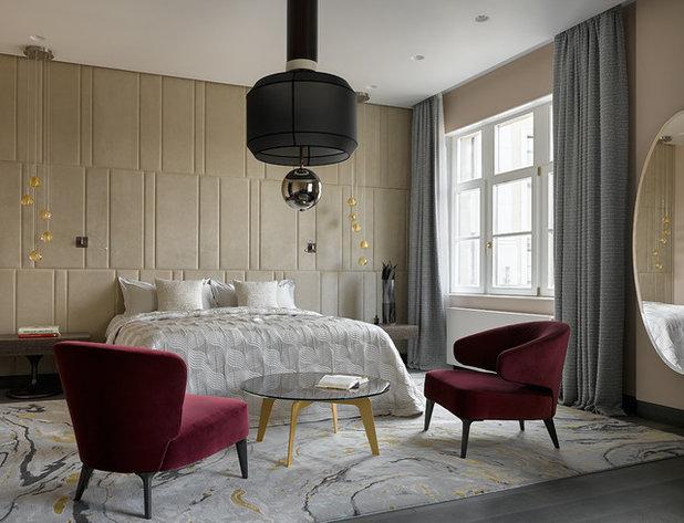 Современный Спальня by Ariana Ahmad Interior Design