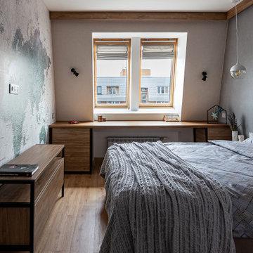 Квартира в коричневых тонах