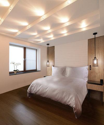 Современный Спальня by Kerimov Architects