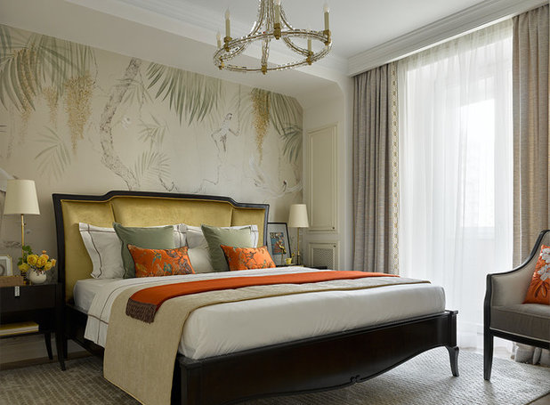 Современная классика Спальня by Виктория Смирнова | SVdecor