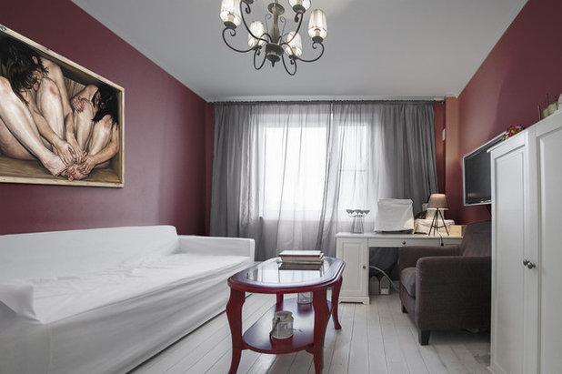 Современный Спальня by Студия Дизайн Квадрат