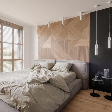 Квартира в современном стиле для молодого человека