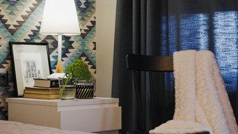 Квартира в современном стиле с нотами этники