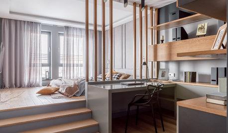 Houzz тур: Квартира с подиумом в центре Краснодара