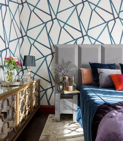 Eclectic Bedroom by Галерея Дизайна Юлии Казаковской