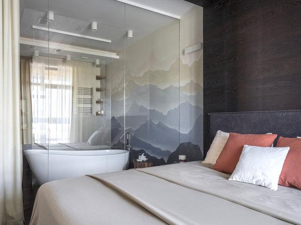 Современный Спальня by Krasnova Anastasiia