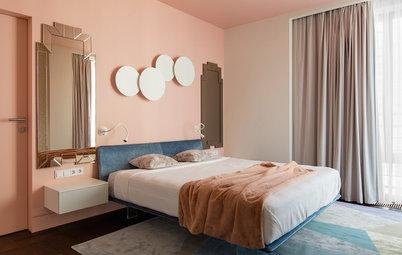 Houzz тур: Квартира с цветными... потолками