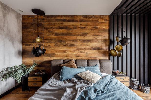 Современный Спальня by Demina Ksenia