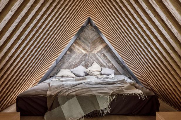 Лофт Спальня by ADesign