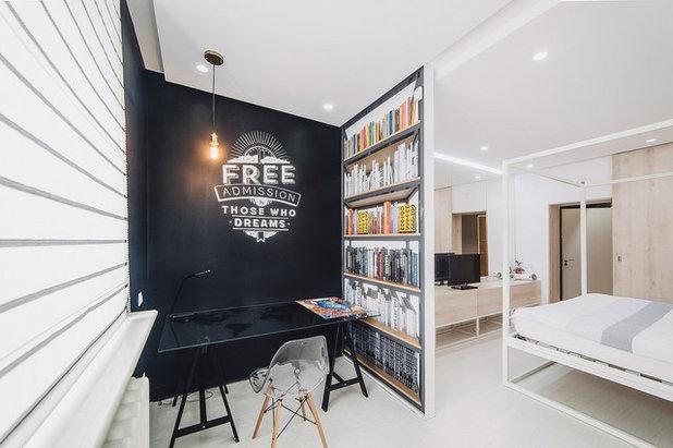 "Scandinavian Bedroom by Дизайн студия Антона Сухарева ""Sukharevdesign"""