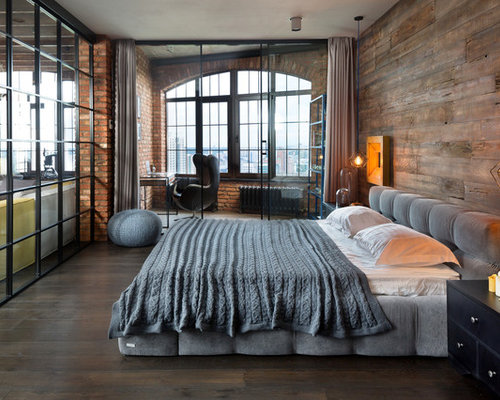 Best Industrial Bedroom Design Ideas   Remodel Pictures   Houzz . Industrial Bedroom Ideas. Home Design Ideas