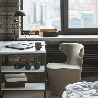 Idee per una camera da letto industriale