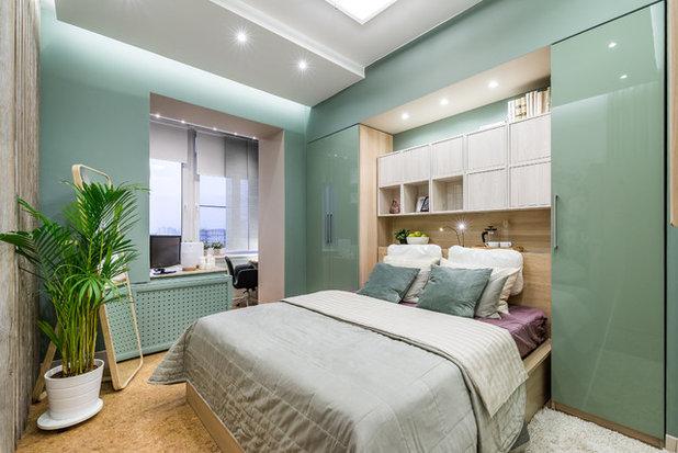Современный Спальня by Corkstyle