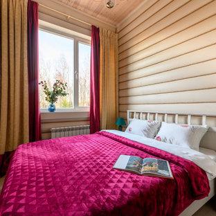Идея дизайна: спальня в стиле кантри