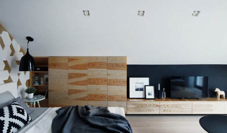 Russia Houzz Tour: Nature-Inspired Colours for a Studio Apartment