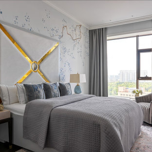 Contemporary bedroom in Other.