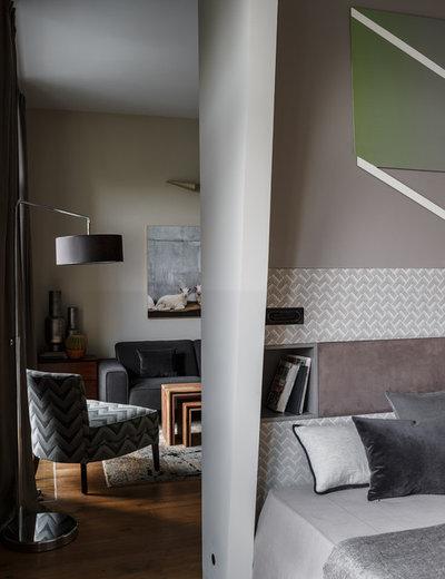 Современный Спальня by STUDIO8