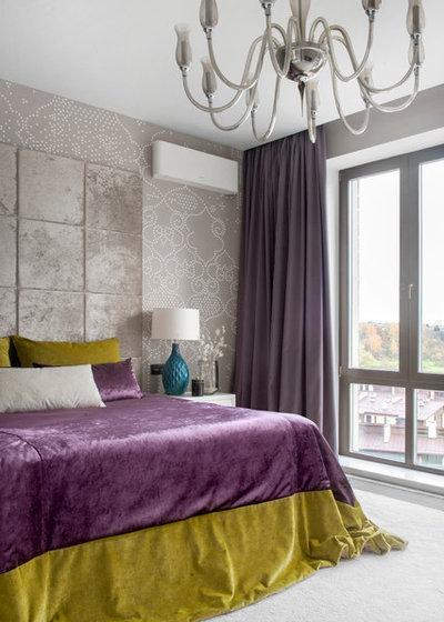 Современный Спальня by Студия дизайна интерьера Александра Побережного